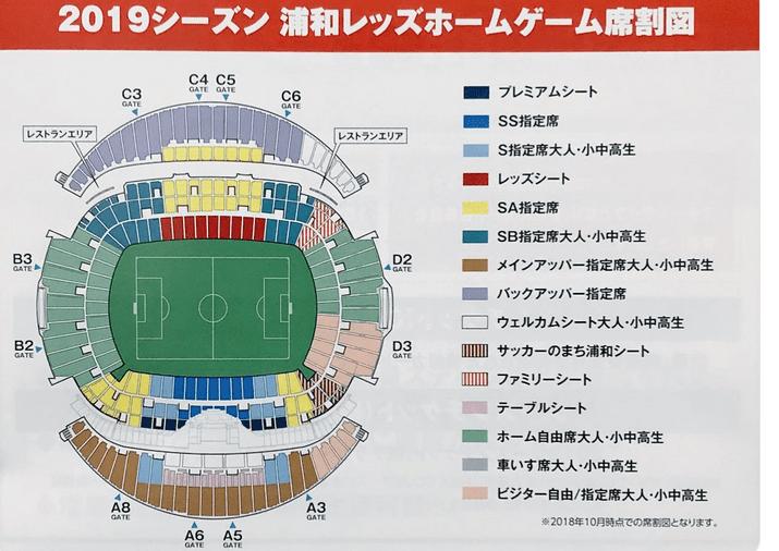 浦和レッズが2019年から『サッカーのまち浦和シート』を新設→場所は ...